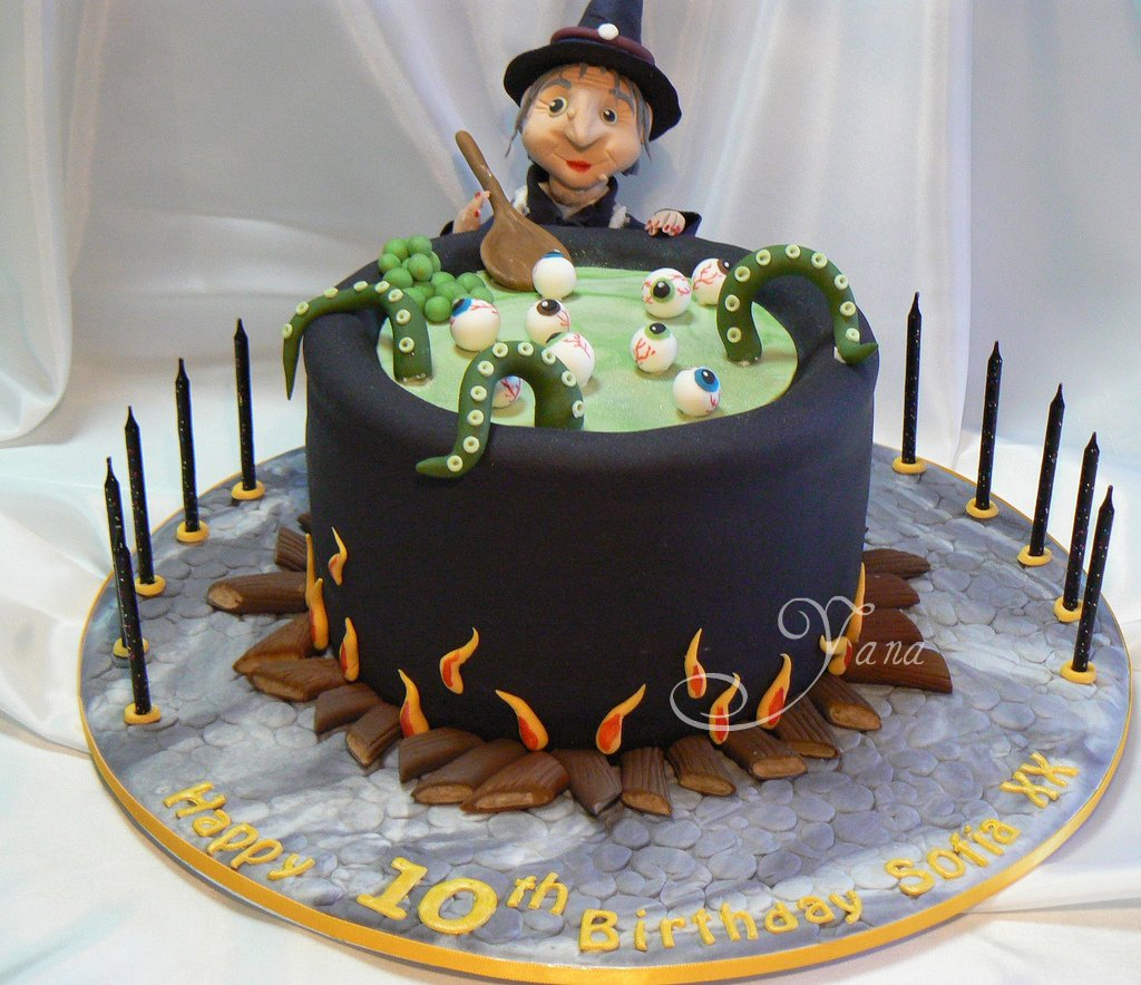 Halloween Cake Topper Ideas