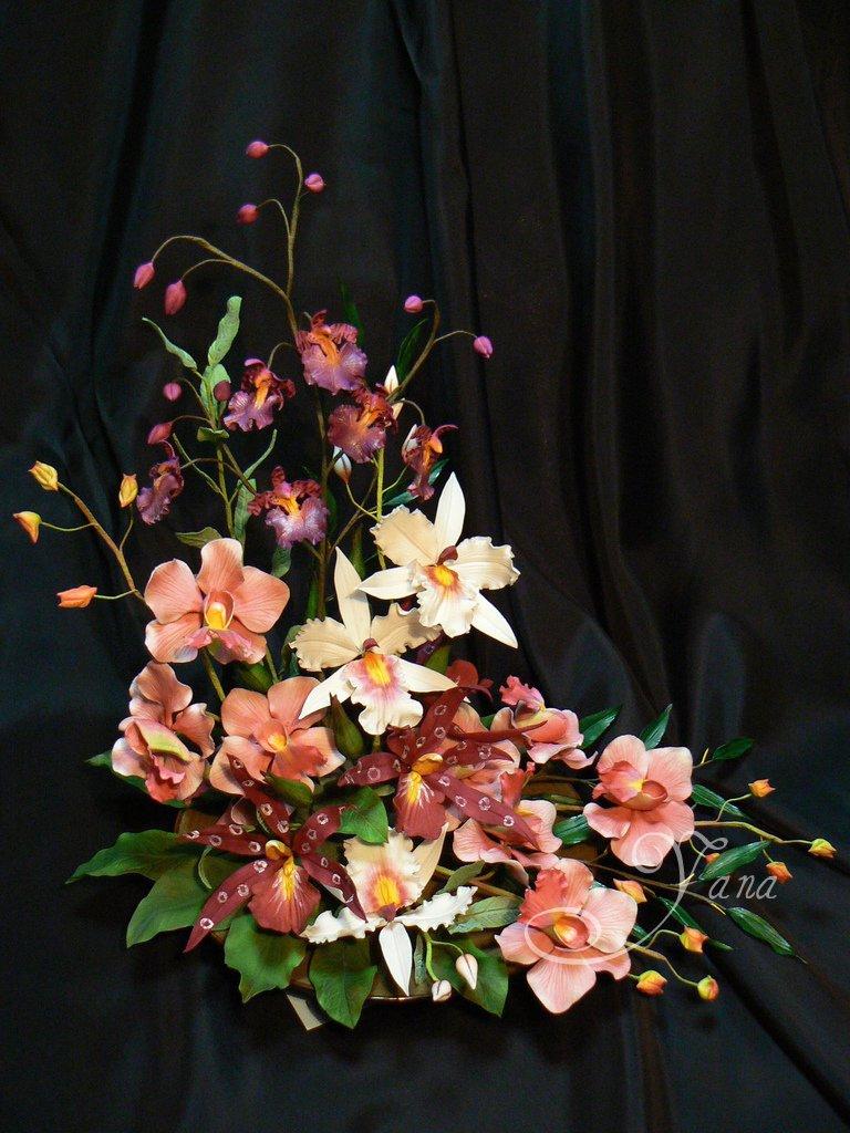 Sugar Flower Table Arrangement